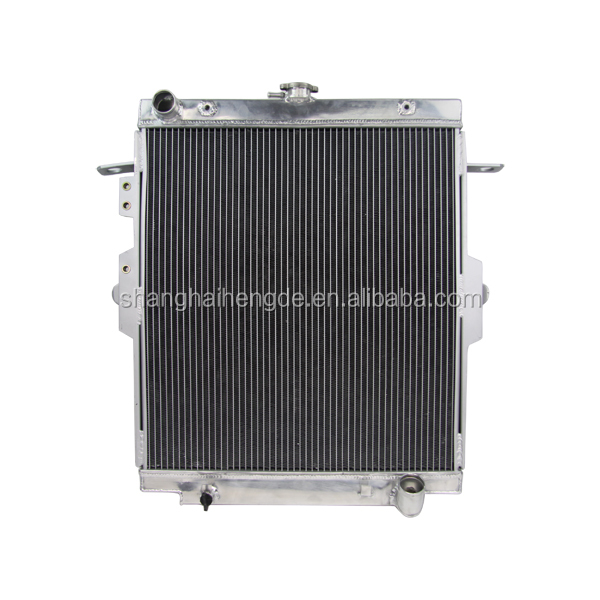 Auto Radiator For TOYOTA landcruiser HZJ78 HZJ79 01-07 Made in Shanghai