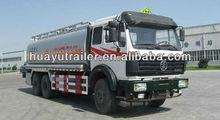Oil/fuel tanker truck