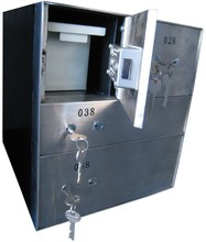 Good quality key lock steel combination bank safe box