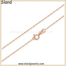 online shop china fashion neck accessories for women rose gold sterling silver chains - 925 pure silver Babysbreath necklace
