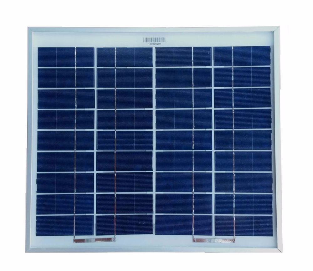 high quality 5v 1 2A solar panel 5Watts poly solar module smal PV module with low price