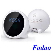 Digital Alarm Clock CCTV Camera 1080p Spy wifi Clock Mini IP Camera Wifi Clock Camera