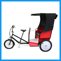 Electric Passenger Bikecab Cycle Rickshaws