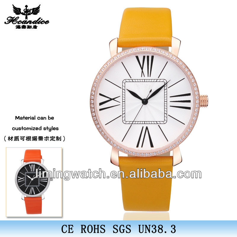 2014 hot sale fashion gift lady watches swiss classic