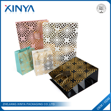 XINYA 2018 New Products Custom Logo Printed Bolsa De Compras Reusable Paper ShoppingBags