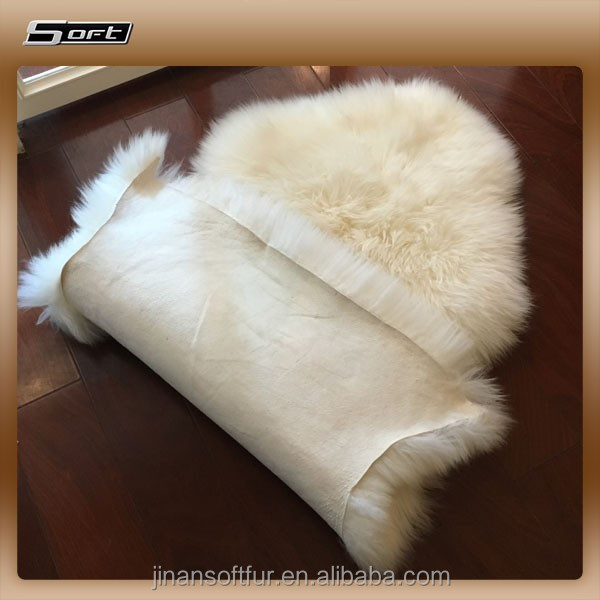 lamb skin wool fur rug