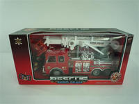 Red Color! Remote Control Fire Engine Toy With Light Sound BT-010124