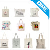 Customized Promotional Factory Price 100% Canvas Cotton Tote Bag With Anime