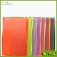 0.4mm ultra thin matt plastic hard case for ipad mini / mini2