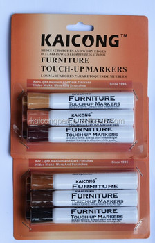 3 Pcs Wood Furniture Repair Markers Touch Up Kit Scratch Repair Fillers Set of 3