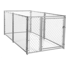 Hot sale fashionable galvanized cheap beautiful large outdoor dog cages/kennels/pet houses