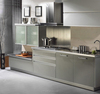 high gloss latest style stainless steel kitchen cabinet