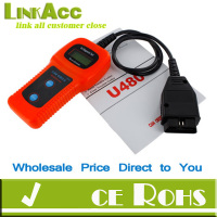 Linkacc-Th80 Car Diagnostic Scanner Tool U480 CAN OBDII OBD2 Memo Engine Fault Code Reader