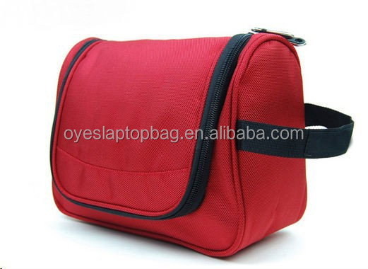 professional large cosmetic bag with compartments of designer cosmetic bag
