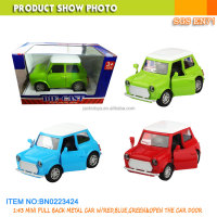 Pullback car toy mini classical car model 1/43 diecast car