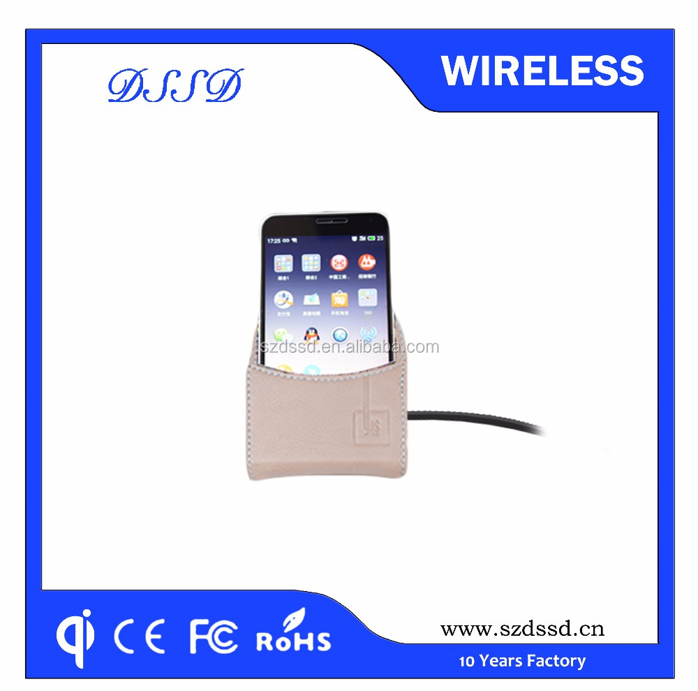 New technology super fast charging 3 coils qi wireless charger for iPhone for Samsung galaxy for htc
