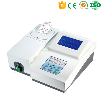 CE/ISO Approved MY-B010B Semi-auto Touch Screen Chemistry Analyzer