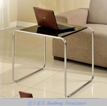 metal tube with chrome finishing computer table specifications