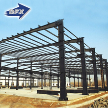 Pu sandwich structural steel frame warehouse construction