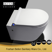 Washdown p-trap ceramic wall hung toilet with reasonable price