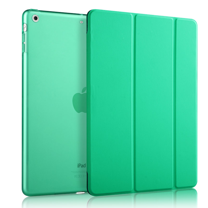 2017 hot selling leather silicone case for ipad air 2