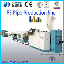 pp single wall corrugated pipe line 250mm pe pipe extrusion line large diameter pe pipe machine