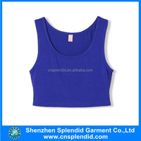 Custom blank crop tops wholesale cheap made in china shenzhen