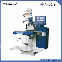 the heavy duty vertical knee type universal turret dro milling machine XK6330A