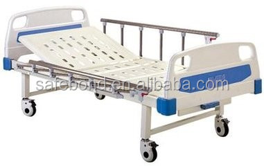 Low Price Hospital Bed Cheap Two Crank Manual Medical Bed