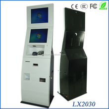 self-service touch screen payment kiosk machine