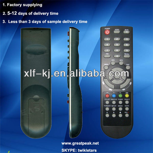 remote control stand fan, electron lcd tv remote control , 1 channel/ 1ch rf wireless remote control switch