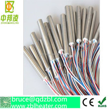 Customized electrical cartridge heaters for plastic machines