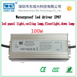 Hot sale dc 24v 36v 50w led driver/10w 30w 50w 100w led driver AC100~265V Power Supply Converter IP67 Waterproof LED Driver