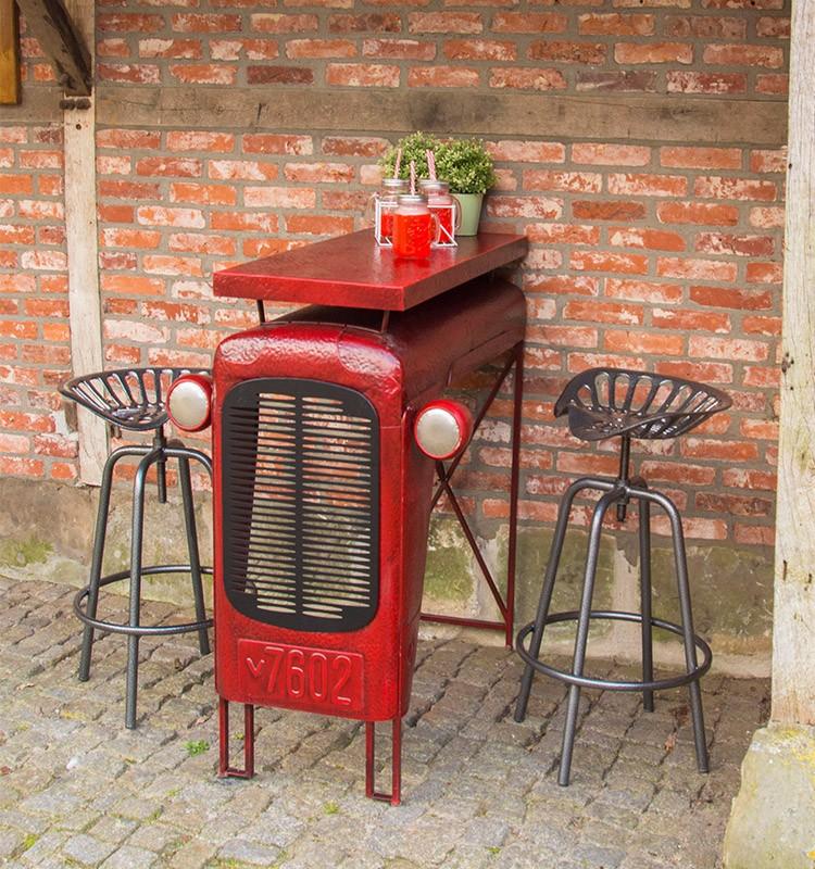 Antique Tractor Furniture : Esschert design tractor seat adjustable vintage terrace
