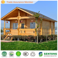 Low Cost Prefab Wooden Chalet ST