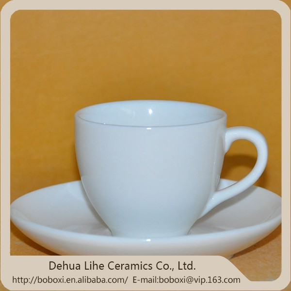 Cheap and high quality bone china tea cup and saucer