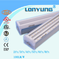 led lighting lamp high lumens led t5 tube 12.m t8 sex red tube with 5years warranty