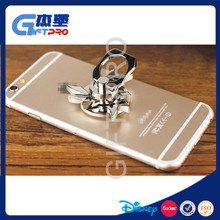 Metal phone ring holder your logo with hand spinner toy