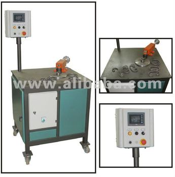 FULL AUTOMATIC WROUGHT IRON SCROLLING MACHINE WITH PLC CONTROL