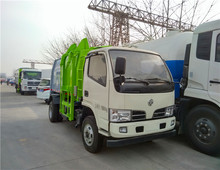 Hot sale Dongfeng big capacity of garbage truck with hydraulic garbage bucket elevator