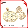 Cheap Bulk Christmas Gifts Jewelry Round Shape Big Jewelry Set