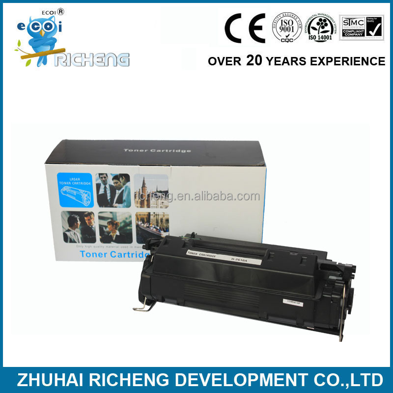 china supplier for hp toner cartridge 2610A, laser toner 10A, for hp Q2610A