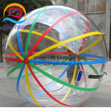 Commercial PVC/TPU water walking ball pool floating jumbo water ball hamster toy bubble balls on water