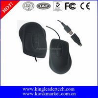 Black color optical silicone mouses with USB or PS/2 Interface