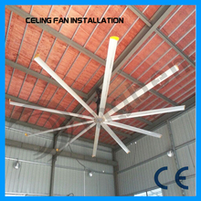 Alibaba china supplier large diameter big wind HVLS industrial ceiling fan