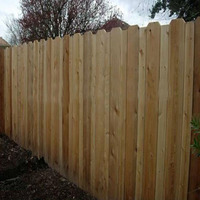 Fence, wooden fencing panels