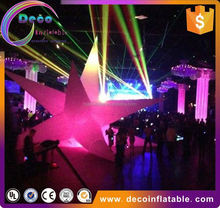 Illuminator inflatable sun decoraiton/event and party star decoration with led light