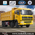 Diesel fuel 12-wheel 50 T loading capacity coal mining dump truck