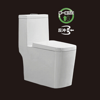 2105 Square toilet one outlet toilet luxury water closet