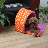 Different styles latest design pet kennel houses s,m,l dog in house plush